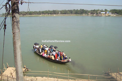 Boat Ride from Navadweep to Mayapur Dham on the Ganga River