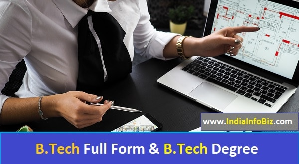B Tech Full Form