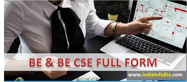 BE Full Form | BE CSE Means