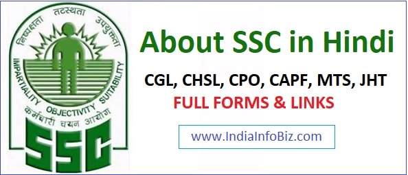Full Form of SSC in Hindi