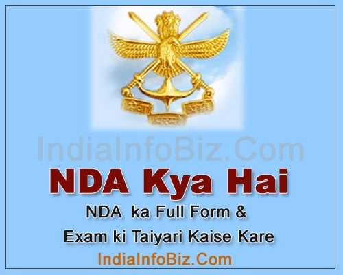 NDA Full Form info in Hindi