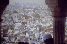 Jama Masjid, Old Delhi, view to New Delhi