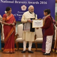 PM Presents National Bravery Awards to 25 Children