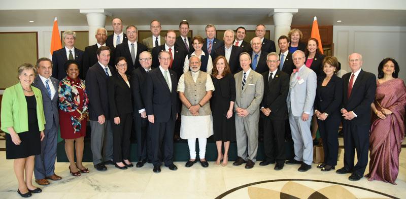 US Congress Delegation Meets PM