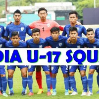 Sports Minister Vijay Goel interacts with Indian Football Team for FIFA U-17 World Cup