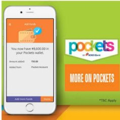 Pockets App – Get Rs 20 Cashback On Recharge Of Rs 100