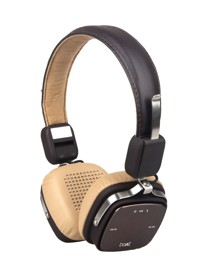 BoAt Rockerz Brown 600 Wired & Wireless Bluetooth Headset With Mic At Rs 1596 - Myntra