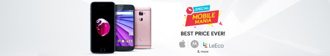Snapdeal Mobile Mania Sale