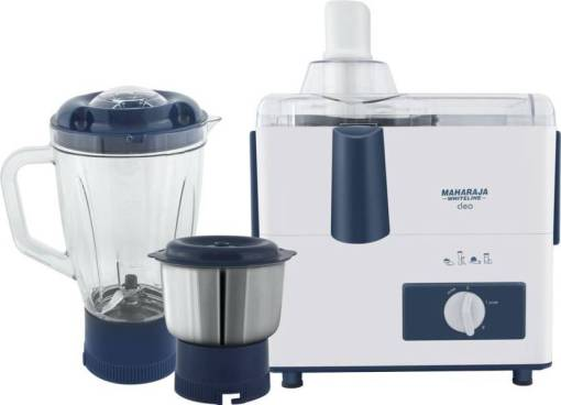 Maharaja Whiteline CLEO (JX-115) 450 W Juicer Mixer Grinder At Rs 1599 Only - Flipkart