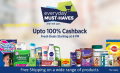 {SALE LIVE}Paytm Everyday Must Haves Sale 100% CashBack Sale
