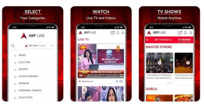 Abp live news dekhne ka app