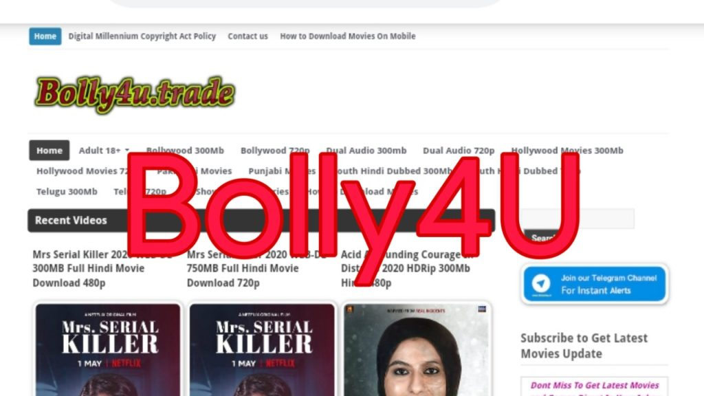 Bolly4you and Bolly4u movie download