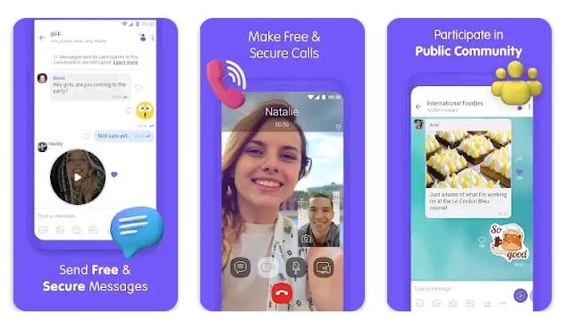 Viber free video calling app