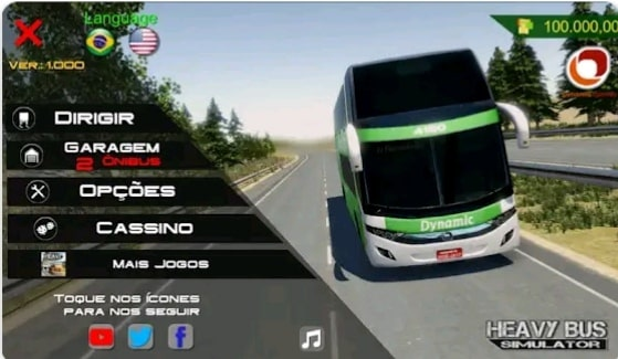 Heavy bus simulator game