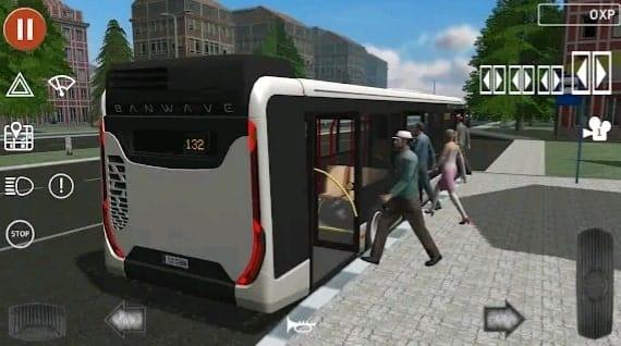 public transport  bus wali game