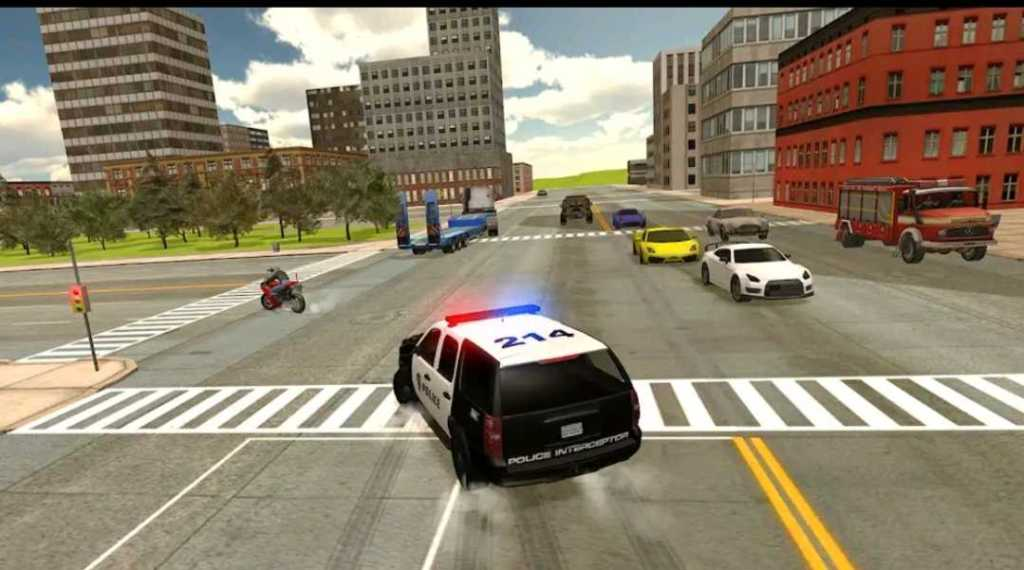 Cop duty Police game