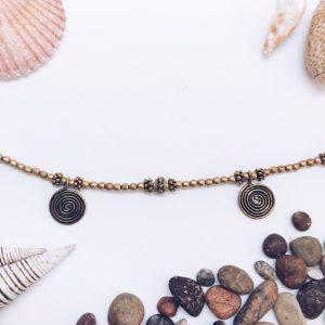 Tobillera Beads