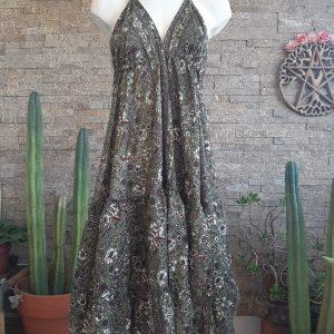 Vestido Gypsy Wildflower Liquen