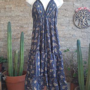 Vestido Gypsy Pasley Blue