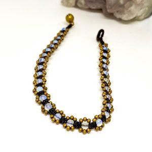 Tobillera Macramé Beads