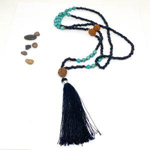 Collar Black Rudraksha