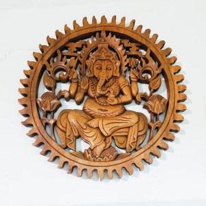 Ganesh Madera 40cm