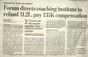 Coaching Institutes Deficiency in Services