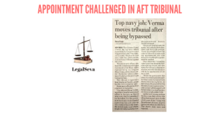 Appointment Challenged in AFT Tribunal
