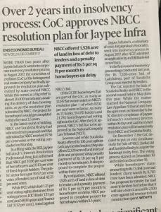 Resolution Plan Approval by COC in Insolvency