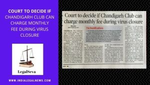 Consumer Complaint against Chandigarh Club on Monthly Fee