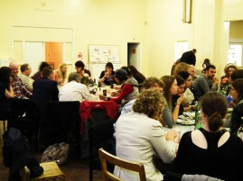 Pop up restaurant at St Christopher's Community Hall, Sneinton.