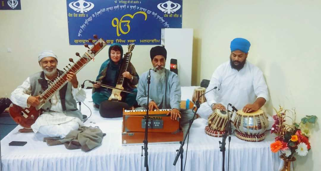 Concert in Gurudwara, Mannheim on Sunday 25.11 at 12. AM.: Guru Nanak's Birth Anniversary.