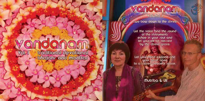 CD cover Vandanam