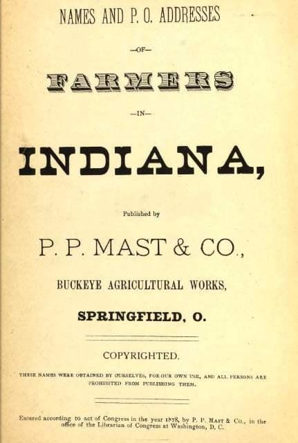 1878 Boone County Farmers