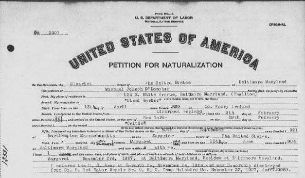 Elkhart County Indiana Naturalization Records