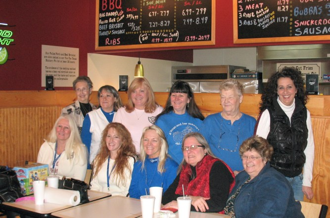 1/29 IN 'South Eats' luncheon, Baby Back Blues BBQ -Columbus