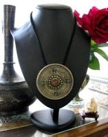Tibetan Pendant, Antique Tibetan Hair Ornament