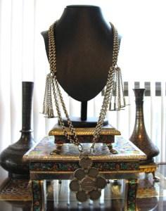 British India Rupee Necklace, Antique India Necklace
