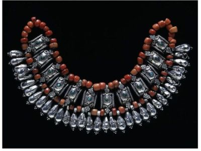 Example of Beads - 19th Century Ladakh Beads Necklace, V&A Museum, London
