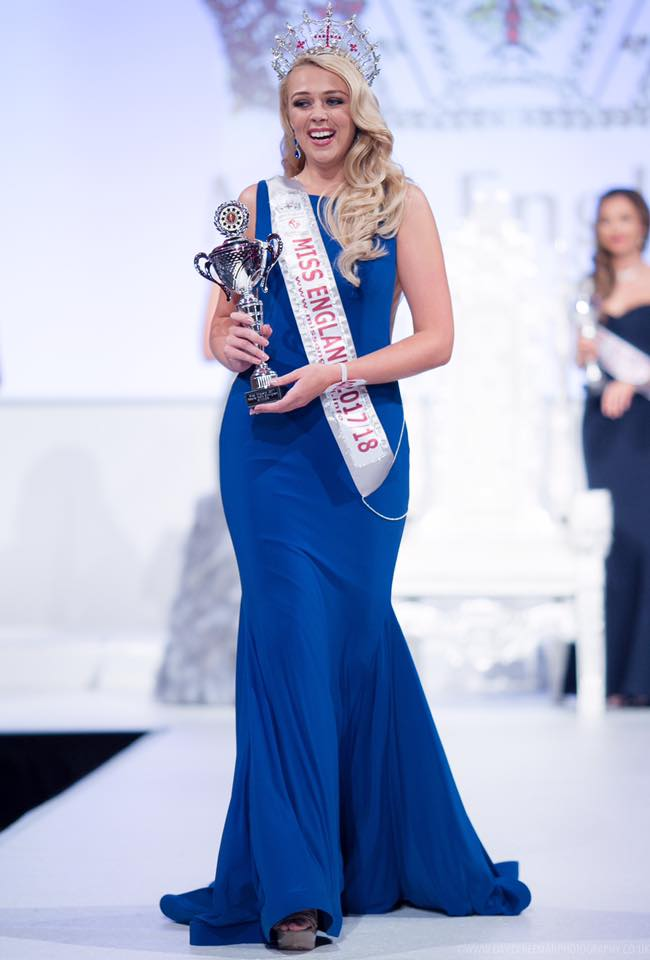 Stephanie Hill Is Miss England 2017  Indian And World Pageant