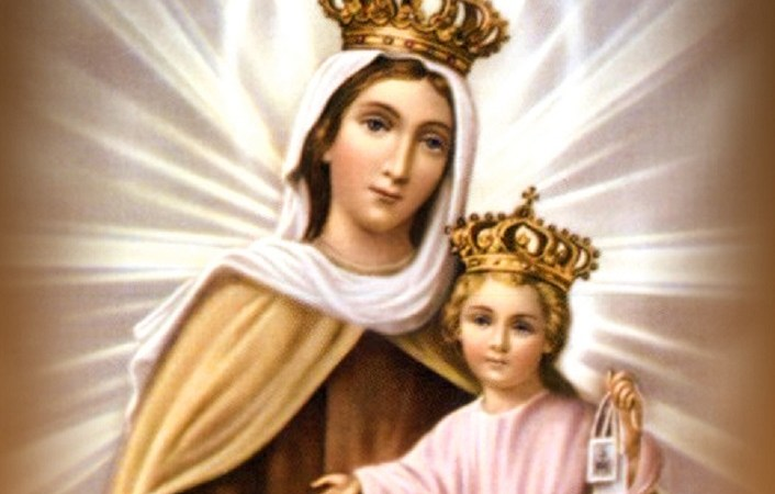 Our Lady of Mount Carmel: Be Near to Us - Indian Catholic Matters