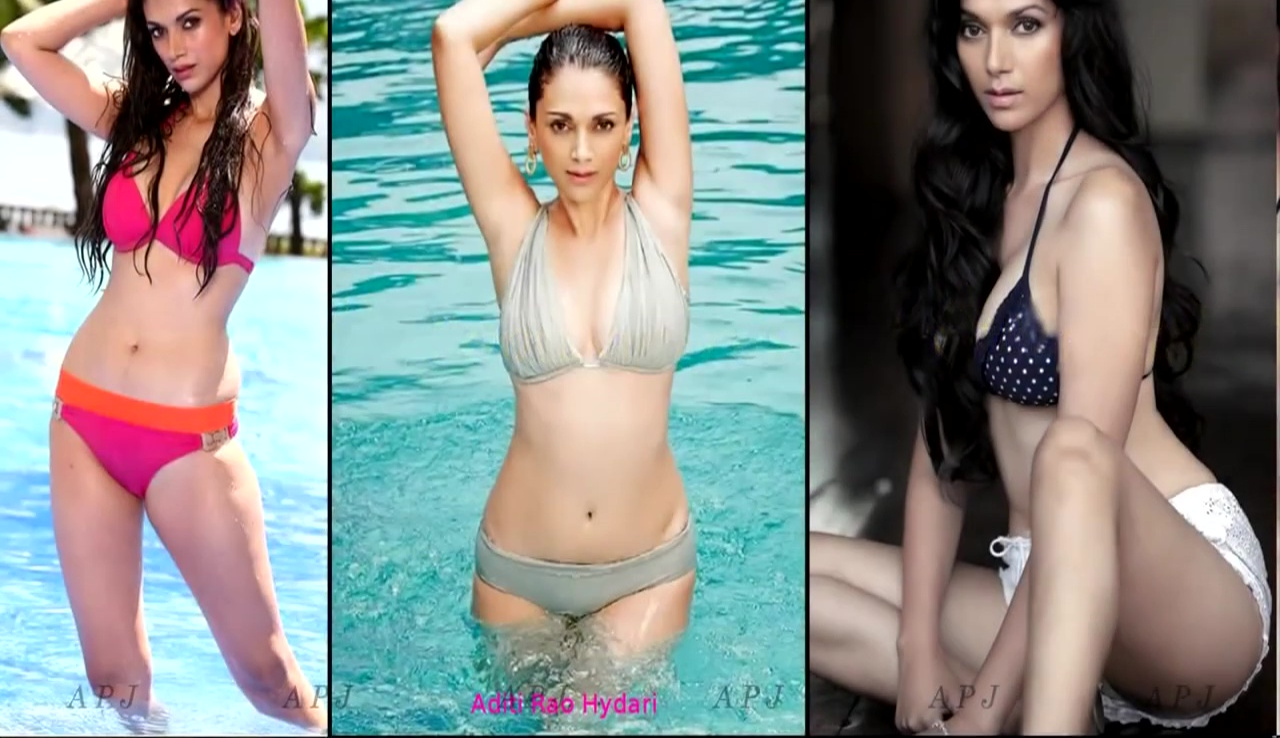 Aditi Rao Hydari Bollywood Actress Hot Bikini Photo 1