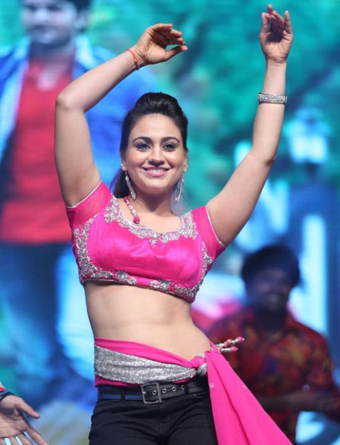 Aksha Hot Dance Stills @ Aadu Magadura Bujji Audio Release