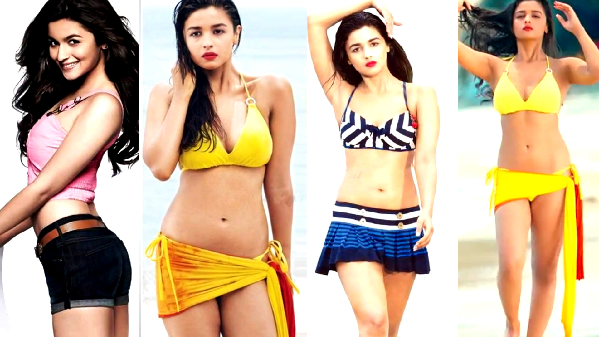 Alia Bhatt Bikini and Glamour Photoshoot images