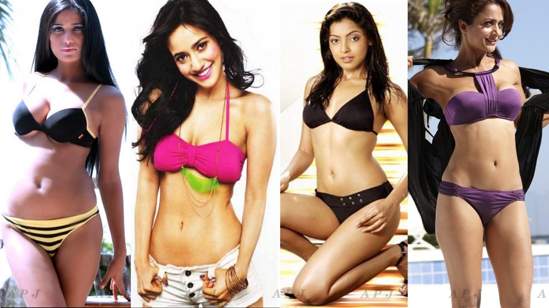 Hottest Bollywood Actress Bikini & Swimsuit Photos