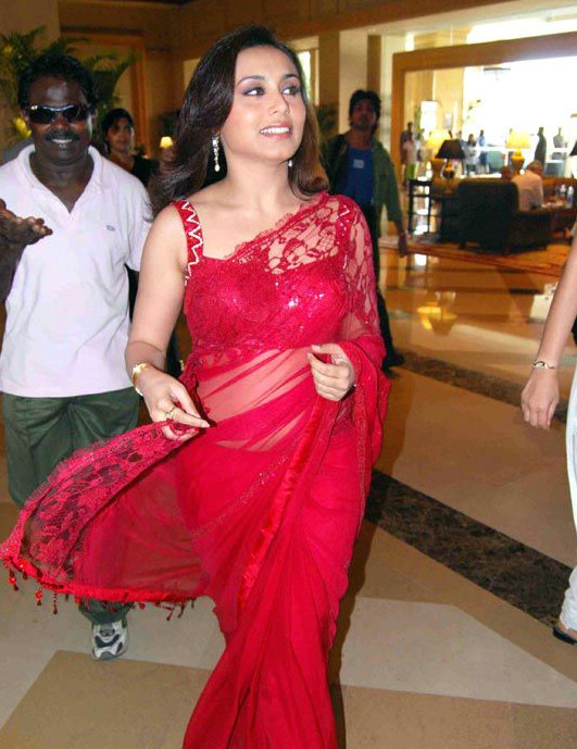 Rani Mukherjee_010_BWEvent TSaree