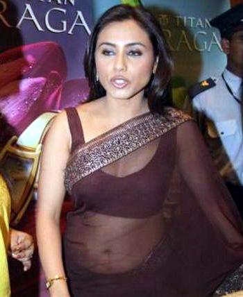Rani Mukherjee_028_BWEvent Brown TSaree
