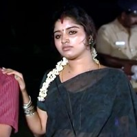 Mahalakshmi Tamil Serial Actress Hot in Saree - TV Caps