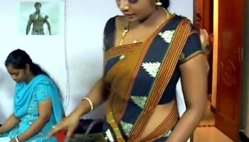Ammu Apsara sexy low waist saree scene Video   Indian Celeb Blog