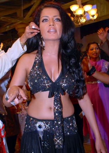 Celina Jaitley hot pics in lehenga choli from bollywood sets